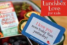 Spread the Love / Showing all the wonderful ways to use Lunchbox Love, the original lunch notes--with positive message, fun trivia, and jokes kids love!