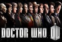 Time Lord of Gallifrey / The Doctor in the TARDIS / by Zaff Zed