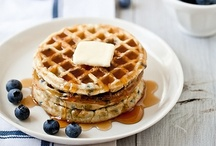 Waffles  / We will eat ALL the waffles