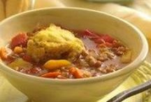 Soups and chili / by Jean Walsh-Baquero