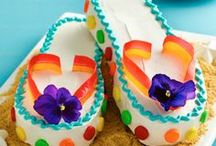Cakes, Cupcakes, and Frostings / And also muffins..... / by Patty Marcello
