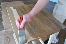 Painting and Staining / Tips on painting or staining anything.... / by Patty Marcello