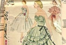 Vintage Sewing Patterns / I have a sick love for vintage patterns. The hours I have wasted away browsing Etsy and eBay for them are innumerable!