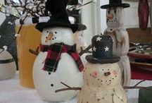 Frosty Friends and Snowy Scenes