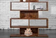 ▲ Cabinets & Bookcases / Good books require a smart, chic storage option to display their beauty and words of wisdom in your environment. If you're looking for a luxurious, practical and chic method to showcase your book collection, take a look at our amazing exotic wood bookcase models. Please visit : https://casa-suarez.com