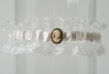 Cameo Wedding Garter / For all of you cameo loving brides out there.  / by La Gartier Wedding Garters