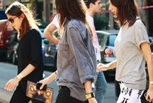 Street Style I admire / by Aliza Carpio