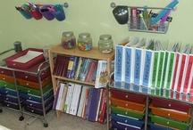 Homeschool Rooms  / homeschool rooms, storage ideas, furniture, etc