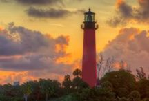 L I G H T H O U S E S / I love lighthouses and this board is an amazing collection of lighthouse photos.