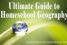 Geography-Homeschool / homeschool geography, curriculum, resources, ideas, multiple grades