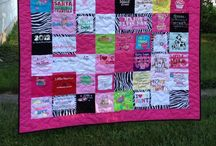 Prairie Girl Quilts / Custom Quilts, Tshirt Quilts, Wedding Dress Quilts / by Angela Slager
