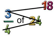 Math: Fractions & Decimals  / homeschool, math, fractions, decimals, percentages