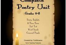 Poetry Homeschool / homeschool language arts poetry.  units, curriculum, books, resources, ideas