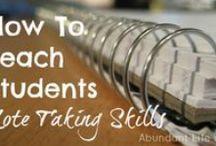 Student Skills to teach