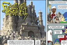 "Fantasy Hospital: The Web Comic / View every issue of ""Fantasy Hospital: The Web Comic"" right here. Note- longer ones are broken into 2 parts labeled A & B, so be sure to read them in the correct order. New comics every Wednesday. See more at http://www.FantasyHospital.com"
