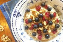 Healthy Breakfast / Start the day with a super-nutritious breakfast. Find Inspiration here!