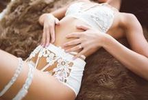 Bridal Boudoir Ideas & Garters / some of my favorite boudoir photos + lingerie that is to-die-for