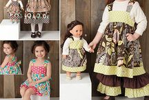 A M E R I C A N  G I R L  D O L L S / Tips, Techniques, Patterns, and Ideas for making American Girl Doll Clothing and Accessories
