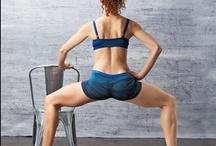 Workout - Lower Body - Legs, glutes / Legs, butt workout. Squats, lunges, etc. / by Michelle Durheim