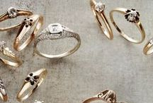 Dress Up // Engagement Rings  / Some of my favorite rings