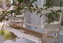 Decorating small porches...