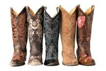 Cowgirl boots...