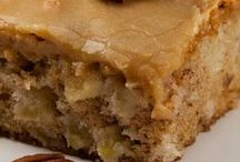Apple Cake... / Apples are the perfect start to a delicious cake!