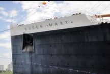 The R.M.S. Queen Mary / by Patricia Lynn