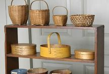 B A S K E T S / All kinds of Baskets, Techniques, Instructions, and Ideas
