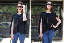Como usar capa tipo blazer / Ideias de looks com capa estilo blazer. Post com dicas no  www.makeupatelier.com.br #modanomake