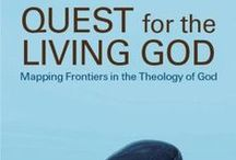 Elizabeth A. Johnson books / Did you hear Sr. Andrea mention Elizabeth A. Johnson's book Quest for the Living God at mass during opening celebration? We have that book and a lot of her other books in our collection, too, so check them out.