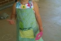 Aprons for children...