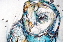 Owls... It's an obsession / by Kaylah Markham