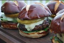 Burgers / Sometimes, you just have to have a big, juicy, flavorful burger! It's the perfect handheld indulgence.