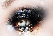 Beauty: Außergewöhnliche Make-ups / Kreative Looks und Liparts