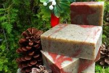 Seasonal Natural Soaps and Skin Care Products / From dry winter skin to the pesky bugs of summer, these natural soaps and skin care products celebrate the changing seasons!