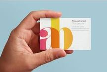 business cards / by Diána Egri