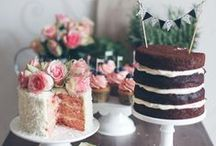 Wedding Goodies & Bev / cakes, dessert tables, beverage tables, food/dessert table decor. / by Karen Dessire