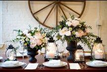 Wedding Flowers / Peonies, Garden Roses, Ranunculus, Anemones and Craspedias. / by Karen Dessire