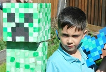Birthday Party - Minecraft