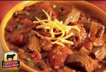 Feeling Chili! / There's nothing better than a bowl of red on a chilly day! We welcome contributors - if you're interested in posting to this board, just add a comment against a pin and we'll get you added.