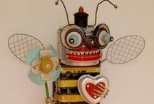 Found and Lost Assemblage / by Kristi PsychoMomma