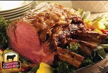 Roast Perfect / Delicious ideas, helpful hints and flavorful inspiration to help you prepare a perfect beef roast. #RoastPerfect!