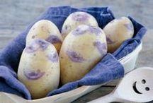 Les chouchous des Toqués / Ces variétés de pomme de terre exceptionnelles sont les chouchous des Toqués. Tous font preuve de créativité et d'ingéniosité pour mettre en valeur Princesse Amandine®, Chérie, Dolwen®, Blue Belle et Juliette.