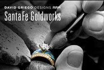 Handcrafted in Santa Fe, NM / Handcrafting Contemporary Southwest Jewelry for over forty years.