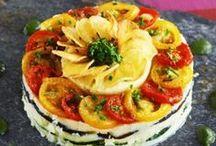 En mode vegan / Des plats végétariens de l'entrée au dessert avec les pommes de terre Princesse Amandine©, Blue Belle, Chérie, Dolwen© et Juliette