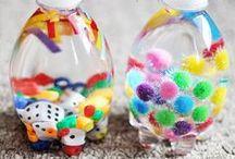 Actividades sensoriales / Actividades para estimular los sentidos de los más pequeños de la casa