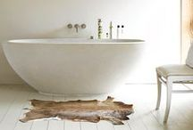 Bathrooms to love / by Peony and Thistle