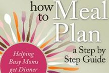 Meal Planning for Busy Moms / Do you meal plan? Would you like to know more about meal planning? Pin here your mommy solutions to menu planning, meal plans, printables, resources and more!