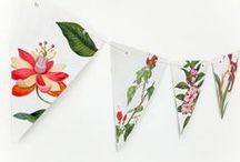 Bunting and garlands / Gorgeous handmade bunting and garlands!